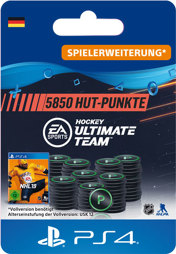 NHL 2019 Ultimate Team Points (5850 Punkte) - PS4-PIN