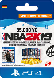 NBA 2k19 35000 VC - PS4-PIN