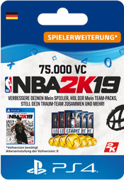 NBA 2k19 75000 VC - PS4-PIN