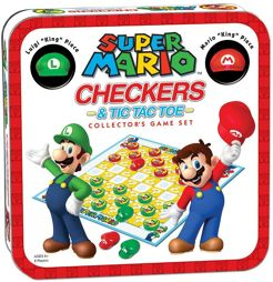 Brettspiel - Super Mario Checkers Collectors Edition