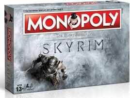 Brettspiel - Monopoly The Elder Scrolls 5 Skyrim