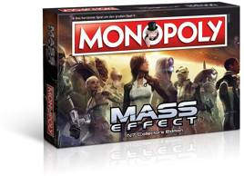 Brettspiel - Monopoly Mass Effect N7 Collectors Edition