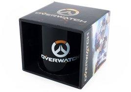 Tasse - Overwatch Logo, schwarz