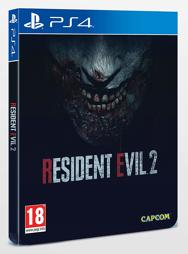 Resident Evil 2 Steelbook - PS4