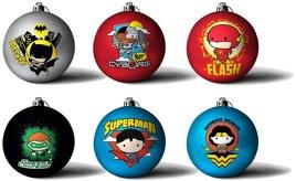 Heim Deko - DC Comics Chibbi Weihnachtsbaumkugeln