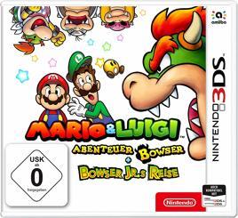 Mario & Luigi Abenteuer Bowser & Bowser Jr.'s Reise - 3DS