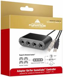 NGC Controller Adapter, ak tronic - Switch/WiiU