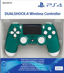 Controller Wireless, DualShock 4, alpine green, Sony - PS4