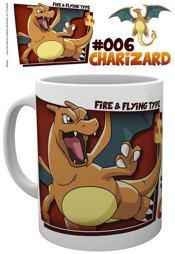 Tasse - Pokémon #006 Charizard
