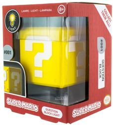Heim Deko - Super Mario LED Lampe Question Block