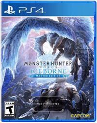 Monster Hunter World Iceborn Master Edition - PS4