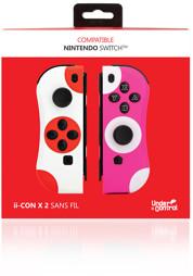 Joy-Con Controller 2er Set, weiß/pink, UC - Switch