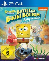 Spongebob Schwammkopf Battle for Bikini Bottom Reh.- PS4