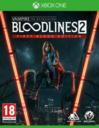 Vampire The Masquerade Bloodlines 2 First Blood Ed. - XBOne