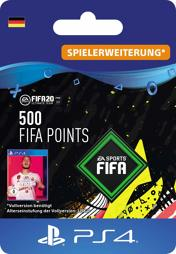 Fifa 2020 Ultimate Team Points (500 Punkte) - PS4-PIN