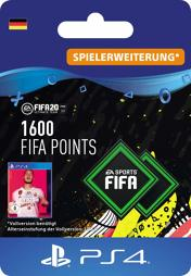 Fifa 2020 Ultimate Team Points (1600 Punkte) - PS4-PIN