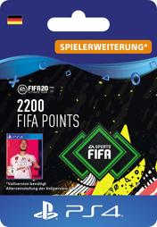 Fifa 2020 Ultimate Team Points (2200 Punkte) - PS4-PIN