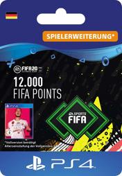 Fifa 2020 Ultimate Team Points (12000 Punkte) - PS4-PIN