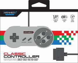 Controller, retro-bit - SNES