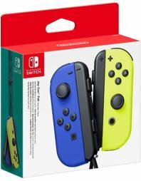 Joy-Con Controller 2er Set, blau/gelb, Nintendo - Switch