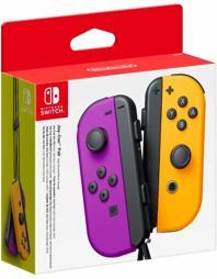 Joy-Con Controller 2er Set, lila/orange, Nintendo - Switch