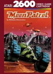 Moon Patrol, gebraucht - Atari 2600