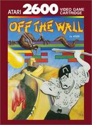 Off the Wall, gebraucht - Atari 2600