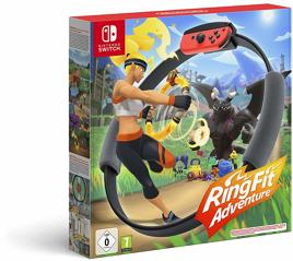 Ring Fit Adventure inkl. Ring-Con & Beingurt - Switch