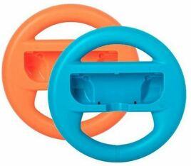 Lenkrad XL für Joy-Con, 2er Set, rot/blau, UC - Switch