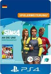 Die Sims 4 Addon An die Uni! - PS4-PIN