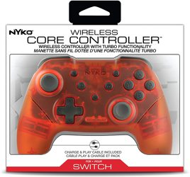 Controller, Core, rot, Nyko - Switch