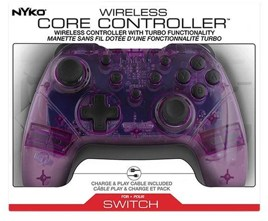 Controller, Core, lila/weiß, Nyko - Switch