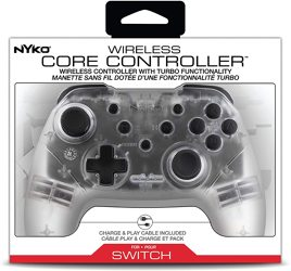 Controller, Core, transparent, Nyko - Switch