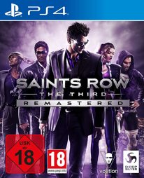 Saints Row 3 The Third Remastered, uncut - PS4