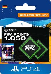 Fifa 2021 Ultimate Team Points (1050 Punkte) - PS4-PIN/PS5