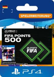 Fifa 2021 Ultimate Team Points (500 Punkte) - PS4-PIN/PS5
