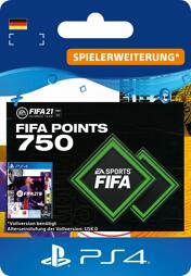 Fifa 2021 Ultimate Team Points (750 Punkte) - PS4-PIN/PS5