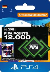 Fifa 2021 Ultimate Team Points (12000 Punkte) - PS4-PIN/PS5
