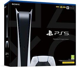 Grundgerät PS5 Digital, 1 Pad, 825GB, weiß, ohne Laufwerk
