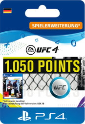 UFC 4 Points (1050 Punkte) - PS4-PIN