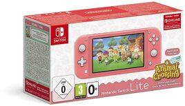 Grundgerät Nintendo Switch Lite, 32GB, koralle inkl. AC & 3M