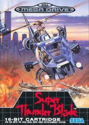 Super Thunder Blade, gebraucht - Mega Drive