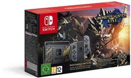 Grundgerät Nintendo Switch, 32GB, V2, Monster Hunter Edition