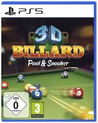 3D Billard - Pool & Snooker - PS5