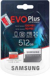 Flashspeicher - microSDXC-Card - 512GB EVO Plus Samsung