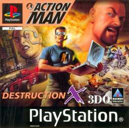 Action Man Destruction X, gebraucht - PSX
