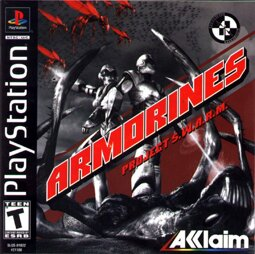 Armorines: Project S.W.A.R.M., gebraucht - PSX