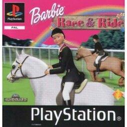 Barbie Race & Ride, gebraucht - PSX