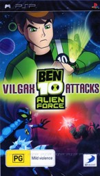 Ben 10 Alien Force Vilgax Attacks - PSP
