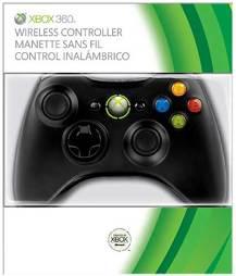 Controller Wireless, schwarz 2010, Microsoft, OEM - XB360